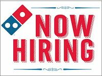 Car Driver – Dominos Crow Road – Earn up to £9 an hour!