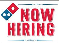Domino's Delivery Drivers - Elgin, Moray - Immediate Start! No Experience Necessary!