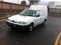 Skoda Felicia \( vw caddy ) 1.9 diesel fridge feezer van 142000 miles no vat