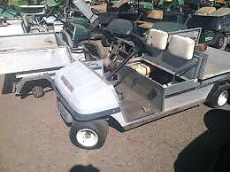 WANTED : Clubcar Carryall for parts no drivetrain needed