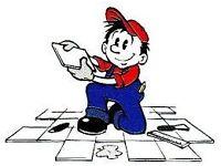 plasterer tiler requires work any area