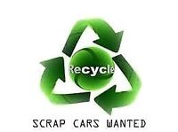 Scrap cars wanted. Top dollar paid