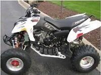 Quad polaris predator 500cc ..may px car bike try me not raptor yzf Ltz quadzilla
