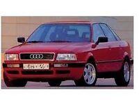 PARTS FOR AUDI 80 QUATTRO 1991>1996 MODEL
