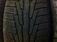 4 x 245/45/19 NOKIAN hakkapelitta7 WINTER tires %98 tread life