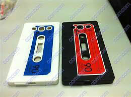 Samsung GALAXY S3 S III Phone Case Cover Skin Cassette Tape NEW!