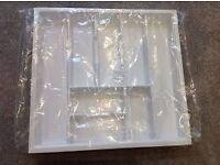 Plastic insert/ cutlery tray/ utensil tray 600mm from Wren RRP £30