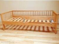 Ikea Gulliver wooden junior / toddler / child bed