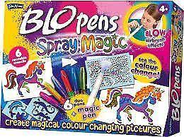 John Adams BLO PENS SPRAY MAGIC 6 Duo BloPens + Magic Pen BLOW Airbrush Effect