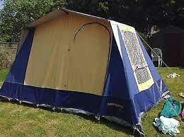 Sunncamp Villa 4 Real Tent With Steel Poles Proper Holiday