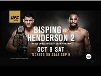 UFC 204 Floor A tickets (1 or 2 tickets available)