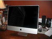 "24"" iMac 250gb hard drive, 4gb memory"