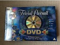 Trivial Pursuit DVV Board Game ( New )