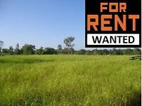 WTD: ISO: Farm Land / Pasture for RENT up to $2,000.xx Paid