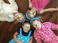 Mobile Kids Spa Birthday Parties!