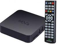 mxq quadcore 8gb memory android box tv ..skybox hd