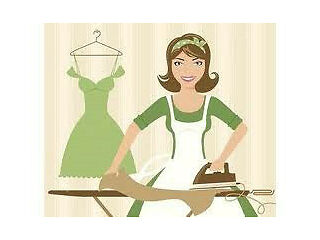 Ironing service, clean smoke free home. drop off and collect the same day £20 per black bag