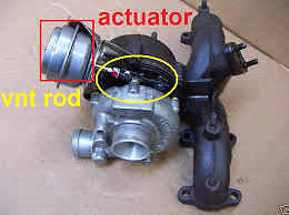 2002 tdi turbo actuator. looking for