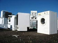 FREE REMOVAL OF WASHERS AND DRYERS BROKEN OR UNWANTED