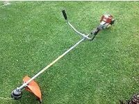Strimmer / trimmer Stihl fs76 straight shaft / cowhorn handles commercial quality G.W.O