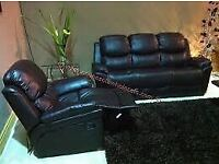 Sofa recliner about 3 years old in good condition 100ono