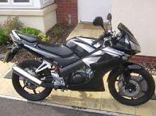 2010 Honda CBR 125 4800km Rego till 27/11 Kent Town Norwood Area Preview