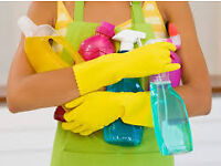 Offering cleaning houses flats..