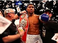 Anthony Joshua v Carlos Takam Boxing Tickets collection only near Chester sat 28th