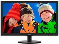 """Phillips V-Line 22"""" 223V5L LCD Monitor Brand New in box"""