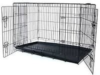 huge giant xxl 48 inch dog cage travel crate kennel