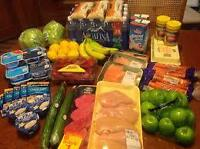 Personal grocery shopper - $10