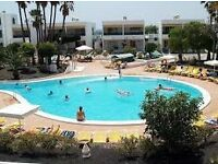 *** 1 Bedroomed Apartment in Lanzarote - 2 weeks annual timeshare in July ***