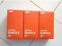 brand new samsung Galaxy J7 unlocked 01274921308