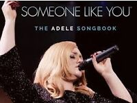Someone like you: Adele Songbook Newcastle City Hall x3 tickets, great seats, in hand ready to post