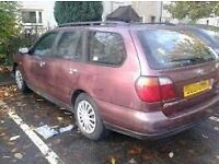 nissan primera breaking for parts (95-02)