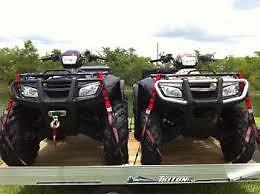 WANTED A PAIR OF ATV's 4X4's LOW KMS AND GOOD SHAPE!!!!