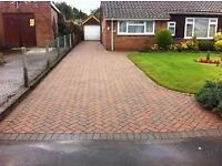 ROSE GARDEN SERVICES FLAGGING FENCING TURFING GATES CUTTING DRIVEWAYS TREES CUT CALL.07448558389