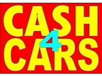 WANTED, USED CARS BOUGHT,