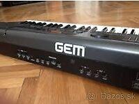 GEM WS1 Keyboard workstation, full owner manual, lined wood flight case