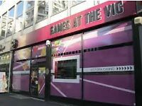 Team Member required for 'Games at the Vic' Adult Gaming Centre