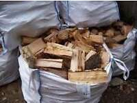 HARDWOOD FIREWOOD LOGS TOP QUALITY SEASONED FREE LOCAL DELIVERY