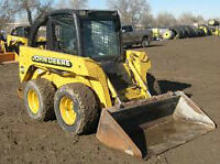 Skid Steer Loader Service ( Bobcat )