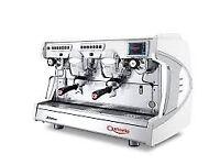 White Astoria Sabrina 2 Group Touchscreen Coffee Machine Nearly New
