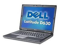 """PROFESSIONALLY REFURBISHED DELL D630 LAPTOP 2GB RAM 80GB HDD INTEL DUAL CORE 14.1"""" MS OFFICE VGC"""