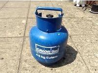 Calor gas empty bottles