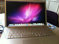 2007 MacBook Pro 15 Inch Intel Core Dual 2.16 GHz 3 GB Ram 250 G