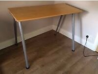 Desk - Easily Adjustable Height - Ikea Thyge Desk - Good Condition - Great Value