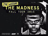 The WEEKND - Madness Fall Tour