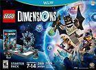 LEGO Dimensions Action/Adventure Nintendo Wii U Video Games
