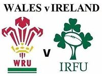 Wales v Ireland 4 x Tkts Amazing Seats Friday 10 March in Cardiff